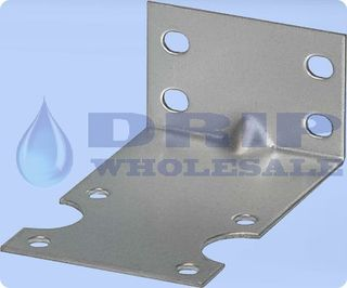 Single SS Bracket and Screws for Std 10 Housing