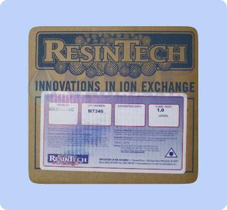 Resintech MBD-16-SC is a premium mixed bed resin per Cubic Foot