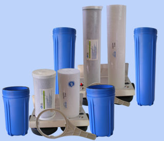 Whole House Twin Water Filter Kits