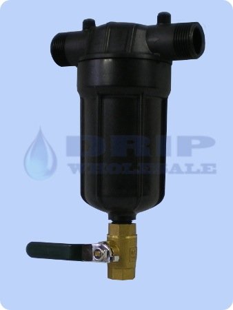 Inline Disk Filter 1 inch Ports 150 Micron